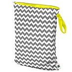 Planet Wise Large Wet Bag in Grey Chevron