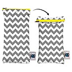 Planet Wise Wipes Pouch in Grey Chevron