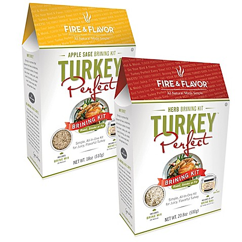 Fire & Flavor™ Turkey Perfect™ Brining Kits