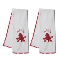 Pam Grace Creations Posh in Paris Bath Towel (Set of 2)