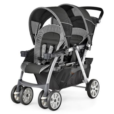 chicco cortina together double stroller in avena buybuy baby. Black Bedroom Furniture Sets. Home Design Ideas