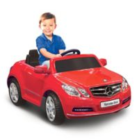 Kid Motorz Mercedes Benz E550 1-Seater 6-Volt Ride-On in Red