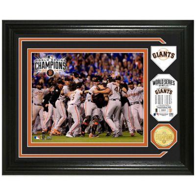 Mlb San Francisco Giants 2017 World Series Champions Celebration Photo Mint