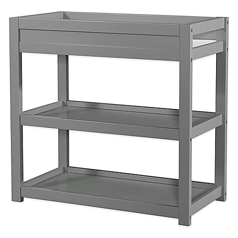 Child Craft Soho Changing Table In Grey Buybuy Baby