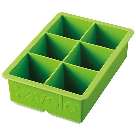 Tovolo 174 King Cube Silicone Ice Tray Bed Bath Amp Beyond