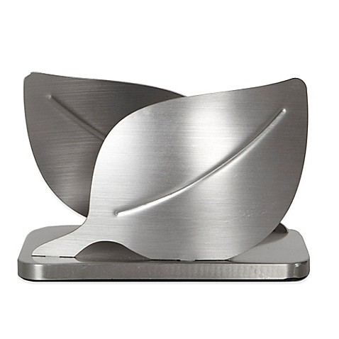 Umbra beleaf napkin holder bed bath beyond for Bathroom napkin holder