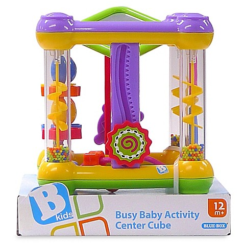 busy baby activity center cube bed bath beyond. Black Bedroom Furniture Sets. Home Design Ideas