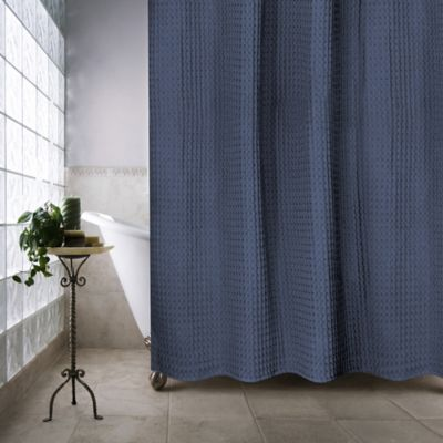 dark blue shower curtain. Escondido 72 Inch x Shower Curtain in Navy Buy Curtains from Bed Bath  Beyond