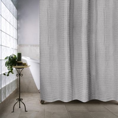 Escondido 72 Inch X 72 Inch Shower Curtain In Silver