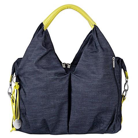 lassig green label neckline diaper bag in denim blue. Black Bedroom Furniture Sets. Home Design Ideas