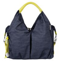 Lassig Green Label Neckline Diaper Bag in Denim Blue