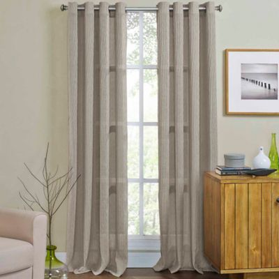 Buy 108 Inch Window Curtain Panel In Taupe From Bed Bath