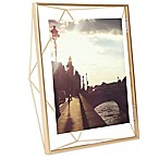Umbra® Prisma 8-Inch x 10-Inch Photo Frame in Matte Brass