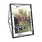 Umbra® Prisma 8-Inch x 10-Inch Photo Frame in Black