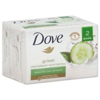 Dove® 2-Count 4 oz. Go Fresh Cool Moisture Beauty Bar