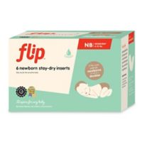 Flip™ 6-Count Newborn Stay-Dry Inserts