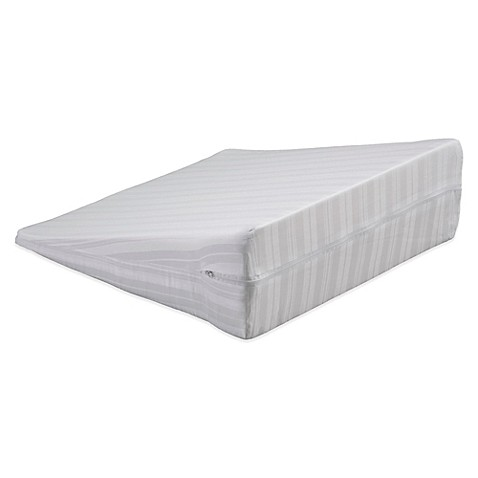 Bedding Essentials Cotton Wedge Pillow Protector Bed