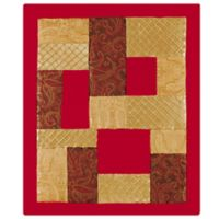 Neo Classic Christmas Quilted Throw