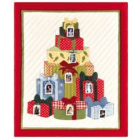 Holiday Xmas Gift Quilted Throw Blanket with Photo