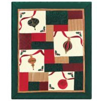 Holiday Sparkle Quilted Throw