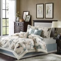 Madison Park Quincy Reversible 7-Piece Queen Comforter Set