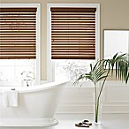 Real Simple® Faux Wood 51.5-Inch x 64-Inch Blind in Chestnut
