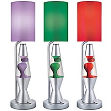 Lave Lite® Lava Plus Table Lamp With Matching Shade