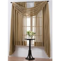 Smart Sheer™ Insulating Voile 63-Inch Window Curtain Panel in Taupe
