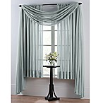 Smart Sheer™ Insulating Voile 84-Inch Window Curtain Panel in Spa Blue