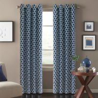 Morocco 84-Inch Window Curtain Panel in Blue