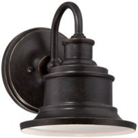 Quoizel Seaford Outdoor Wall Lantern in Imperial Bronze
