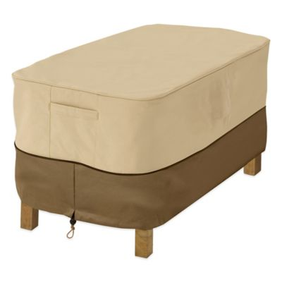 Classic Accessories Veranda Rectangular Coffee Table Cover