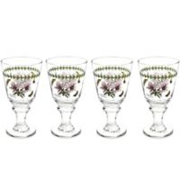 Portmerion Botanic Garden All-Purpose Wine Glasses (Set of 4)