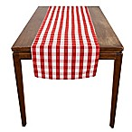 Riegel® Red Check 96-Inch x 18-Inch Table Runner
