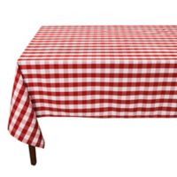 Riegel® Red Check 102-Inch x 60-Inch Oblong Tablecloth