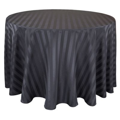 Buy 90 Inch Round Black Tablecloth From Bed Bath Amp Beyond