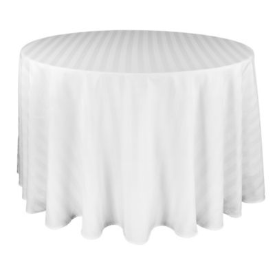 Buy 90 White Round Tablecloths From Bed Bath Amp Beyond