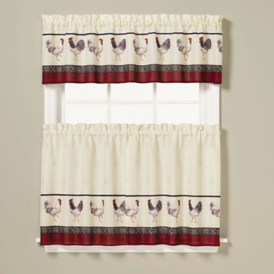 Kitchen Curtains 36 inch kitchen curtains : Buy Red Kitchen Curtains from Bed Bath & Beyond