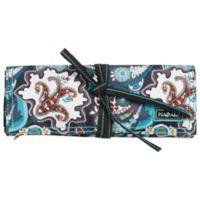 Hadaki Jewelry Roll in Luna Blue Safari Paisley