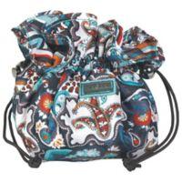 Hadaki Jewelry Sack in Luna Blue Safari Paisley