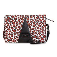 Hadaki Travel Wallet in Luna Blue Safari Cheetah