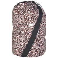 Hadaki Laundry Bag in Luna Blue Safari Cheetah
