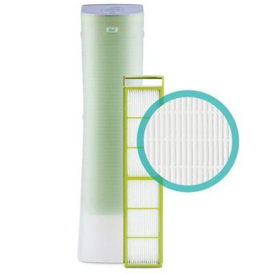 alen paralda tower hepa air purifier in green u003e alen hepa filter for alen paralda air