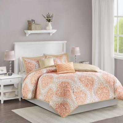 Lovely Buy Orange Comforter Sets from Bed Bath & Beyond BK06