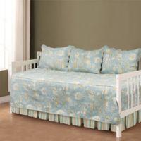 Natural Shells Daybed Bedding Set in Blue/Beige
