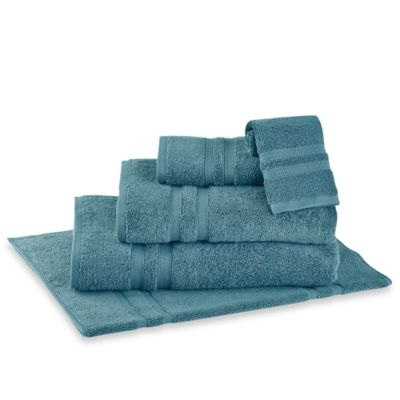 Wamsutta  Perfect Soft MICRO COTTON  Bath Towel in Teal. Buy Teal Towels from Bed Bath   Beyond