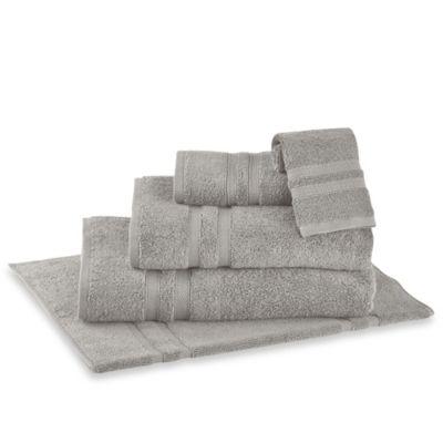 Buy Colordrift Lattice Grey Bath Towel From Bed Bath Amp Beyond