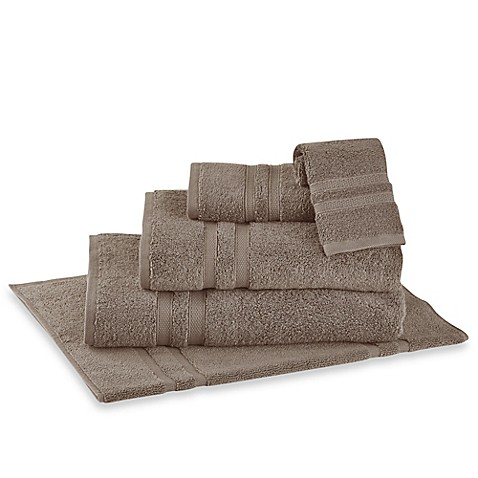 Wamsutta® Perfect Soft MICRO COTTON® Bath Sheet in Taupe