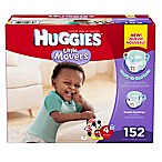 Huggies® Little Movers Size 4 152-Count Disposable Diapers