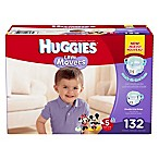 Huggies® Little Movers Size 5 132-Count Disposable Diapers